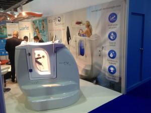 Le stand AquaFit Technologie à Dubaï