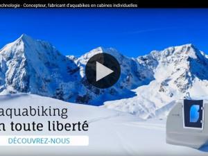 Vidéo aquabikes en cabine AquaFit Technologie