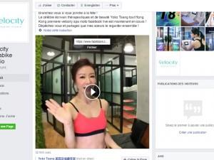 Velocity Hong Kong découvrez le live show de Yoko Tsang