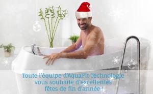 AquaFit Technologie vous souhaites de belles fêtes de fin d'année